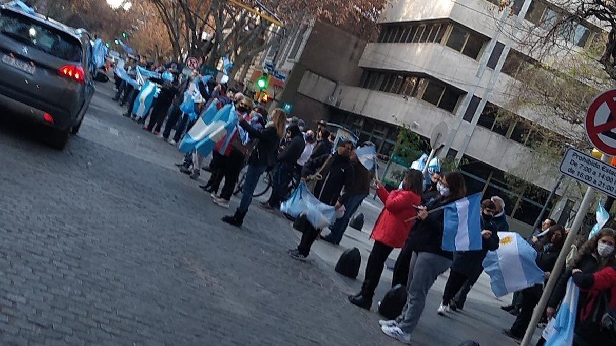 Las movilizaciones fueron convocadas en distintas ciudades del país.