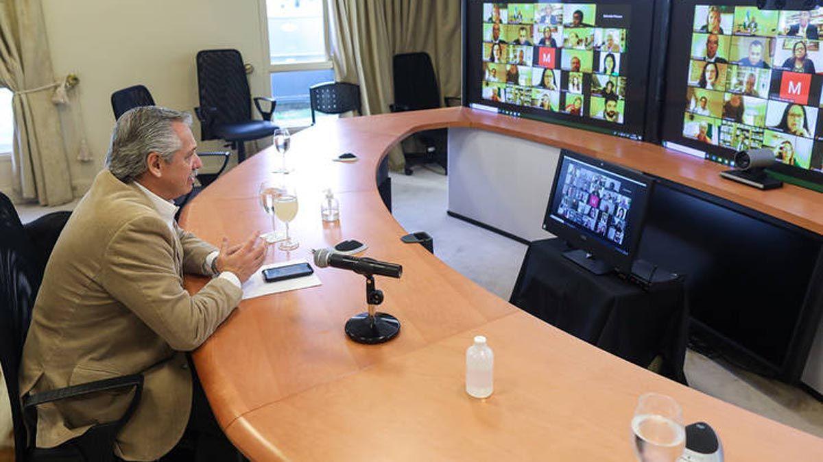 El presidente Alberto Fernández compartió un mensaje a un año de la creación del Grupo de Puebla.