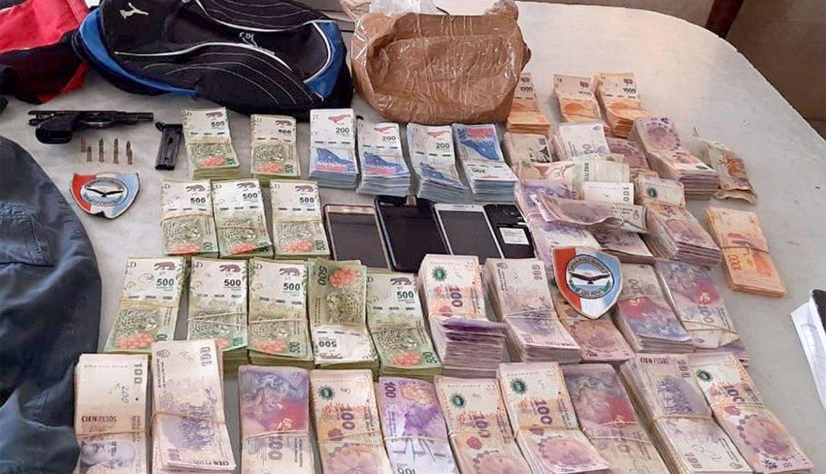 Choque y fuga: no logran acreditar el origen del dinero secuestrado