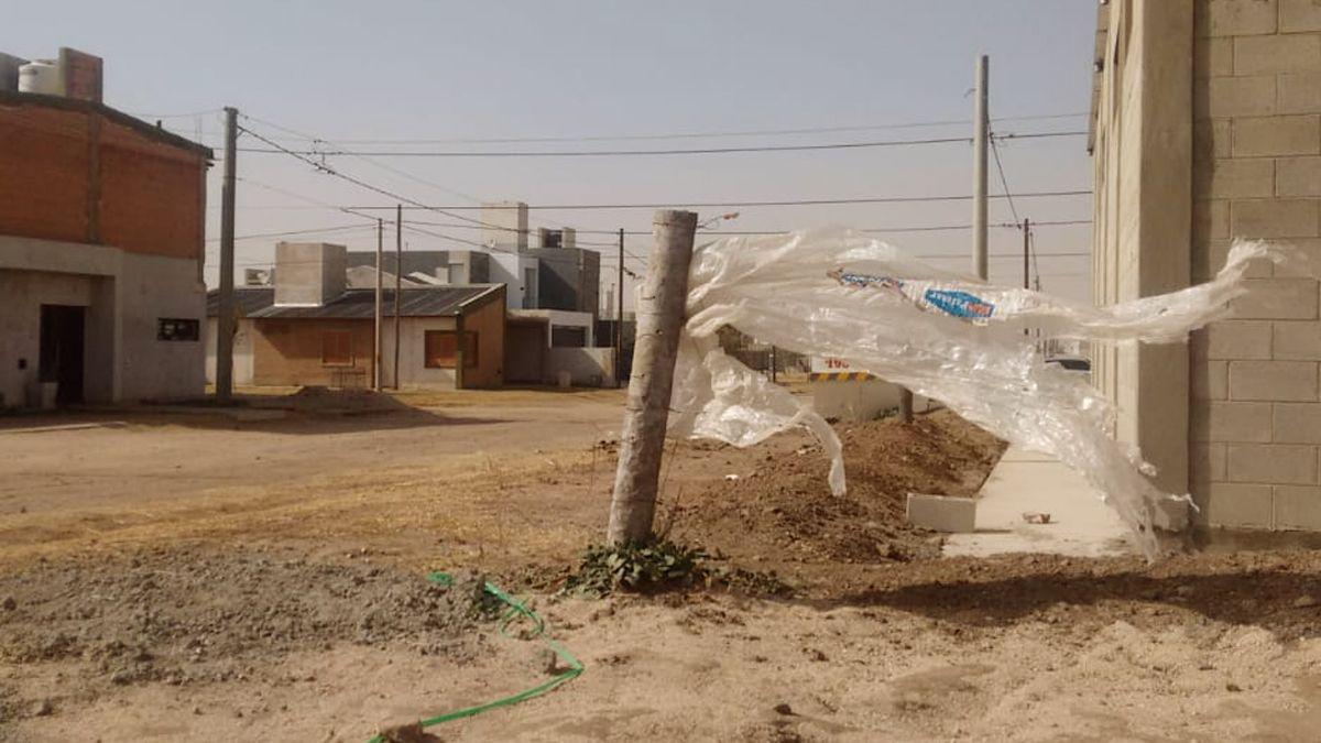 Vientos de 55 km/h convalidan el alerta que rige sobre el sur de Córdoba
