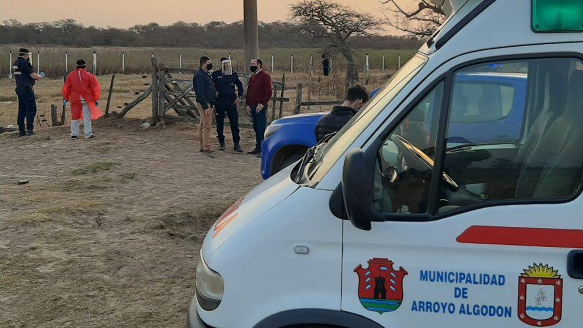 El homicidio se registró en un establecimiento rural próximo a Arroyo algodón.