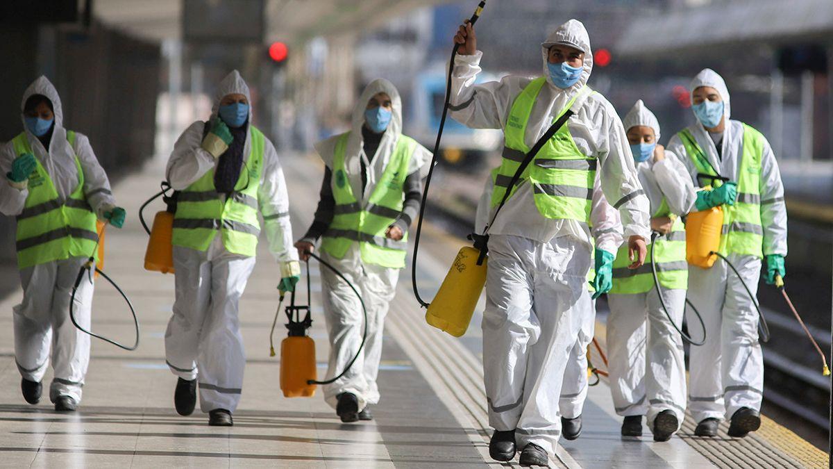 En Argentina se sumaron este lunes 166 fallecidos por coronavirus.