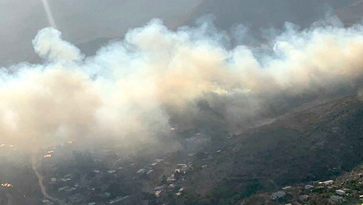 Cerca de 30 hectáreas quemadas en un incendio en Alpa Corral