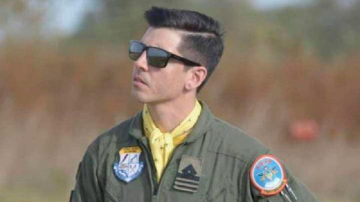 El piloto Britos Venturini logró eyectarse del avión