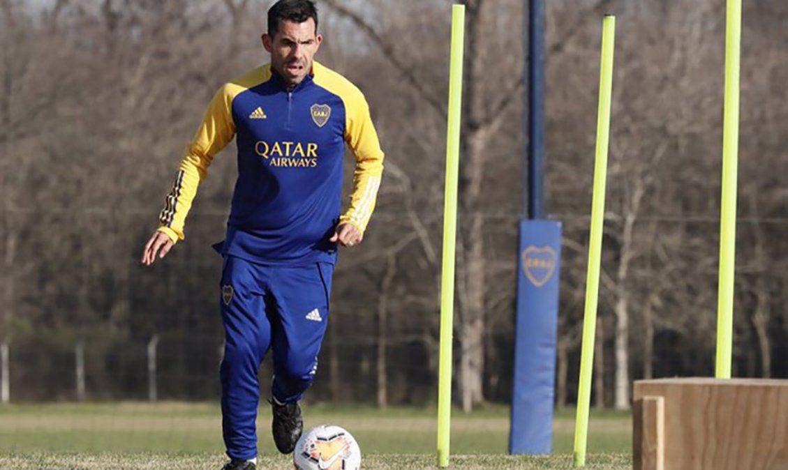Con Tevez en cancha y Russo resguardado, Boca retomó los entrenamientos en Ezeiza