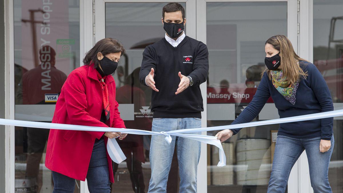 Massey Ferguson inauguró su concesionaria Legaz en Ucacha