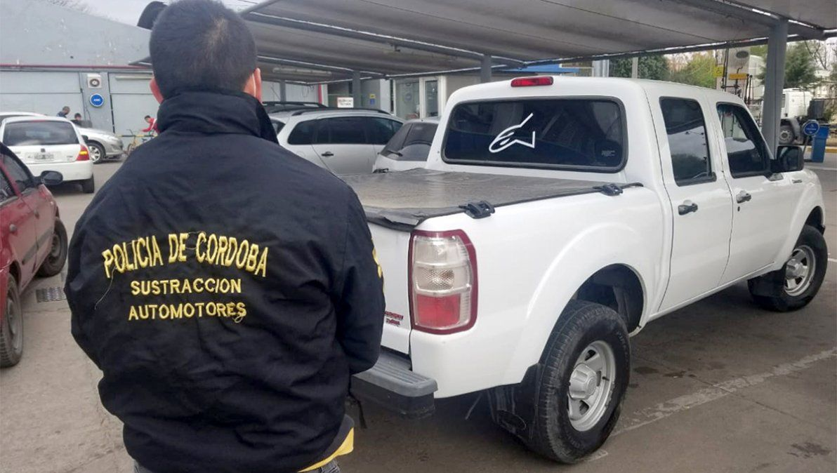 Un riocuartense fue víctima de una estafa con su camioneta: la hallaron en Córdoba