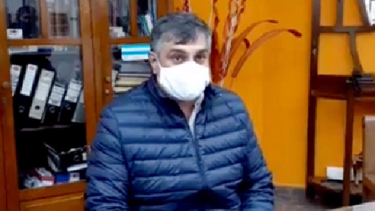 El intendente de Sampacho admitió que la cifra de contagios es mayor.