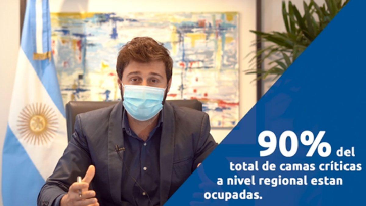 El intendente Franco Morra dijo que se debe trabajar de manera colaborativa con los sistemas sanitarios regionales.
