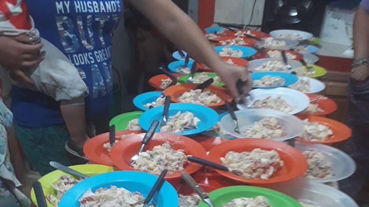 Desde el comedor manifestaron que hacen falta carne y pan para sostener las viandas.