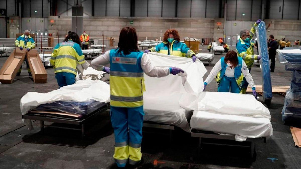 El gobierno español se prepara para el peor escenario en la Comunidad de Madrid.