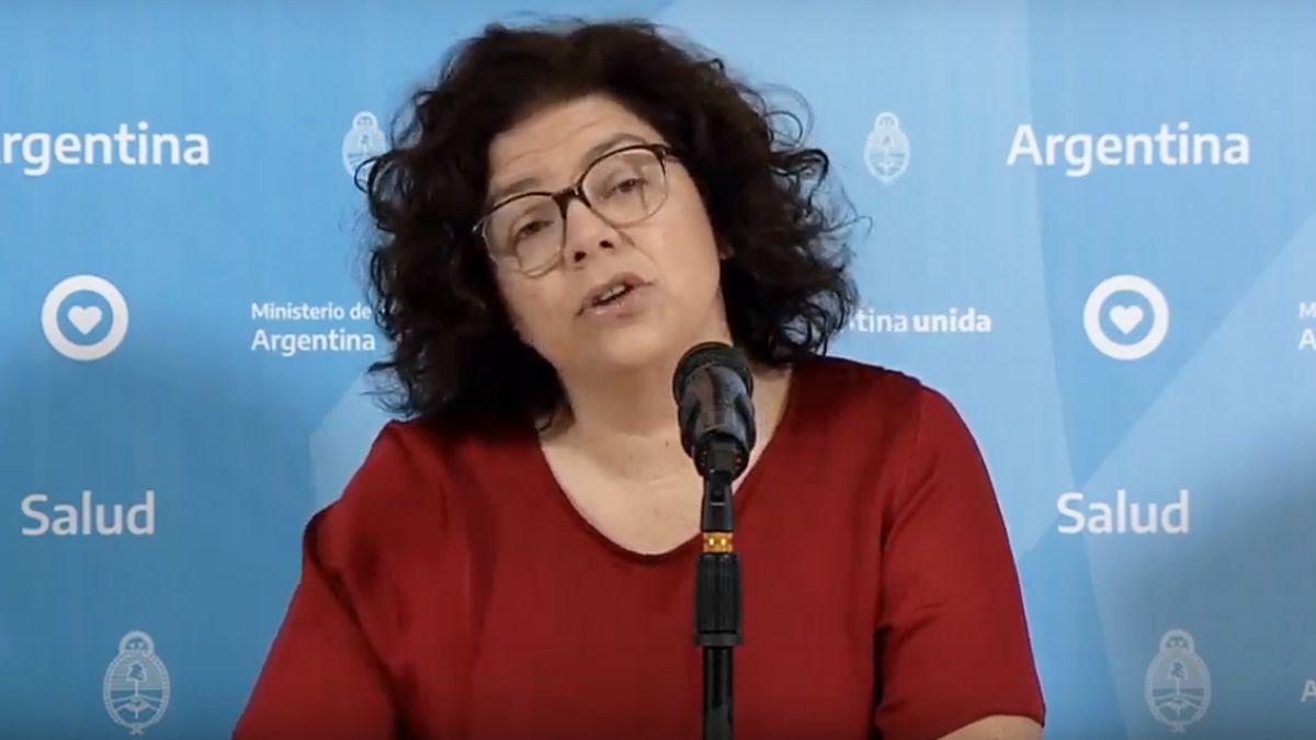 La secretaria de Acceso a laSaludde la Nación