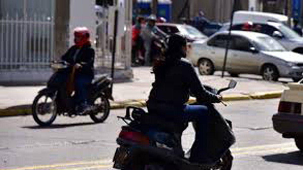 El registro de ciclomotores se desplomó un 85 por ciento de marzo a abril.