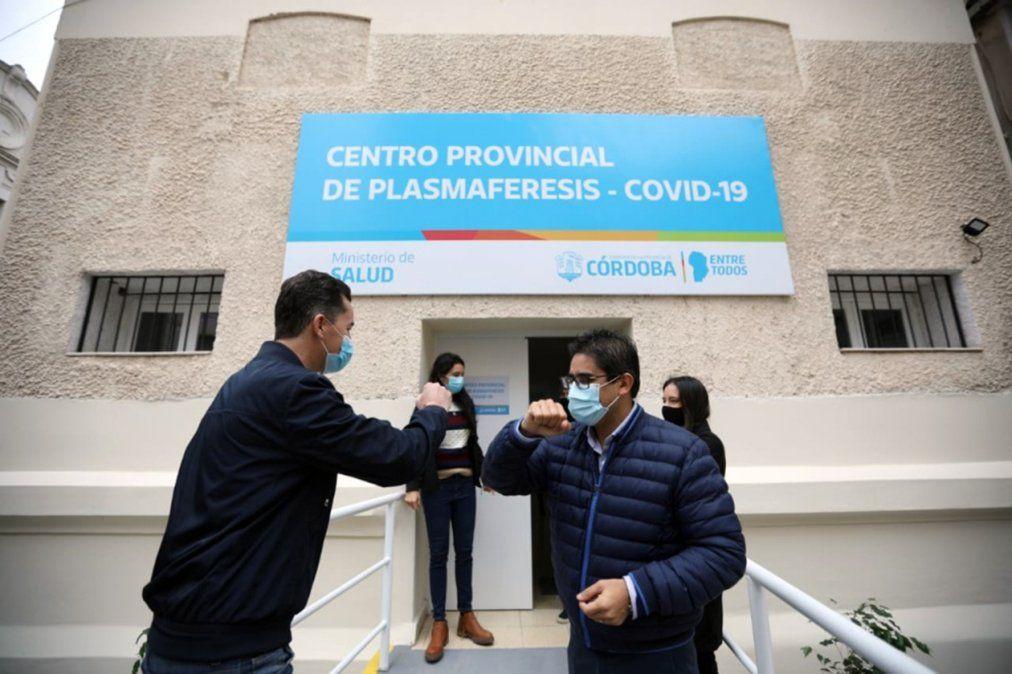 El frente del primer centro público de extracción de plasma de la provincia.