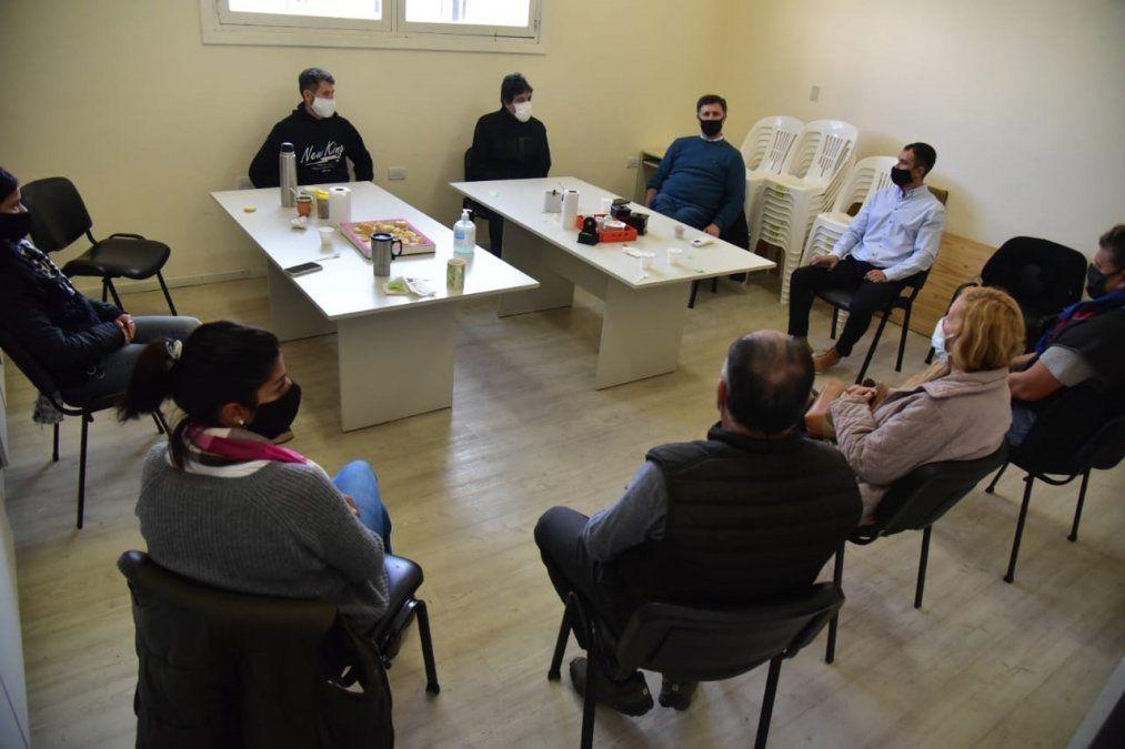Pablo Rosso se reunió con referentes de centros vecinales