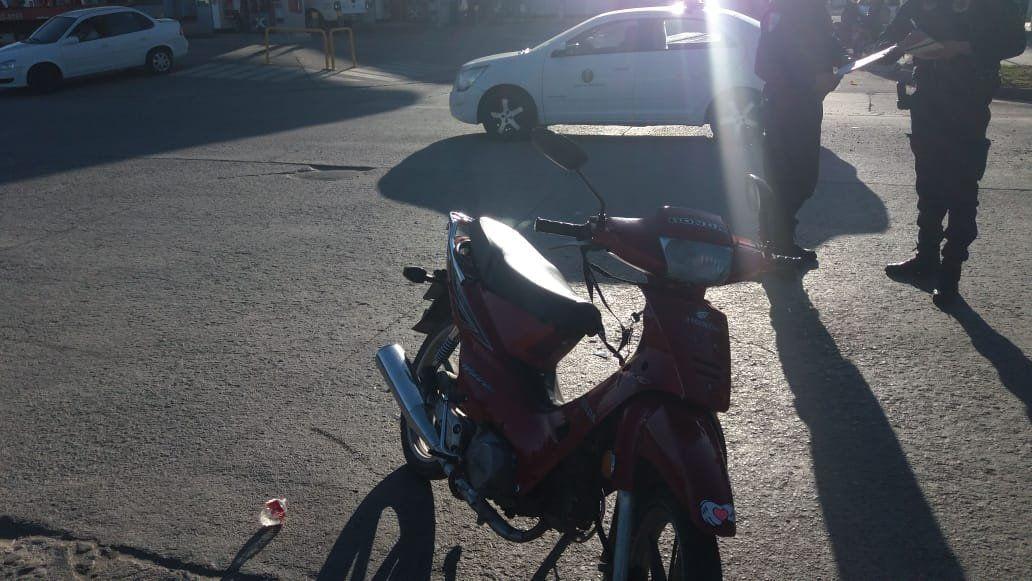Uno de los siniestros tuvo lugar en la esquina de Seppey y Buenos Aires.