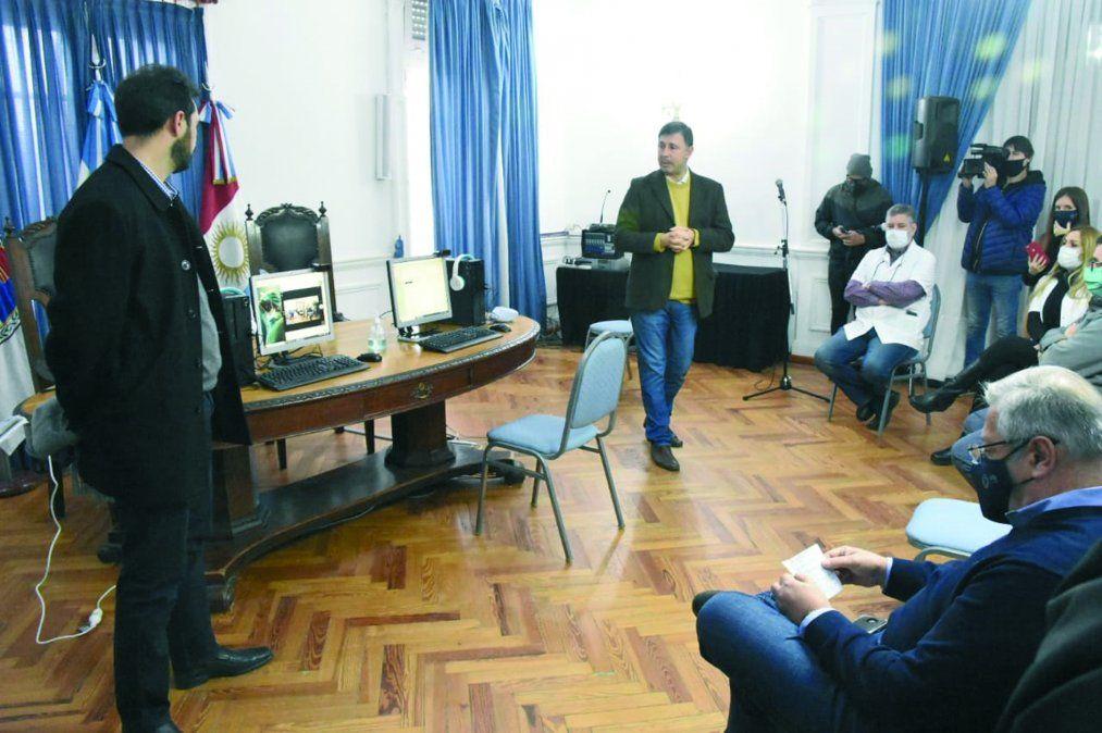 El área de salud municipal recibió una donación de equipamiento informático para realizar telemedicina