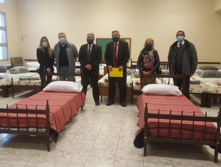 La Iglesia mormona cede camas para aislamiento
