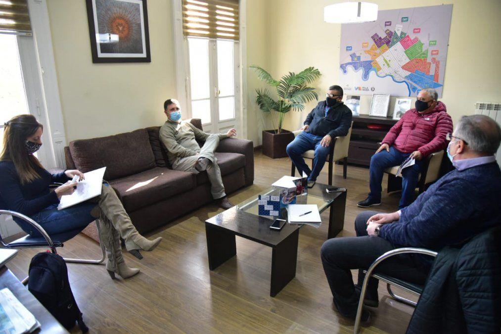 Rosso se reunió con representantes de SUOEM