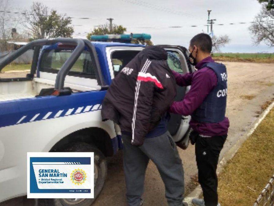 Viajaron más de 25 kilómetros para sustraer dinero y otros elementos de una casa de barrio San Martín