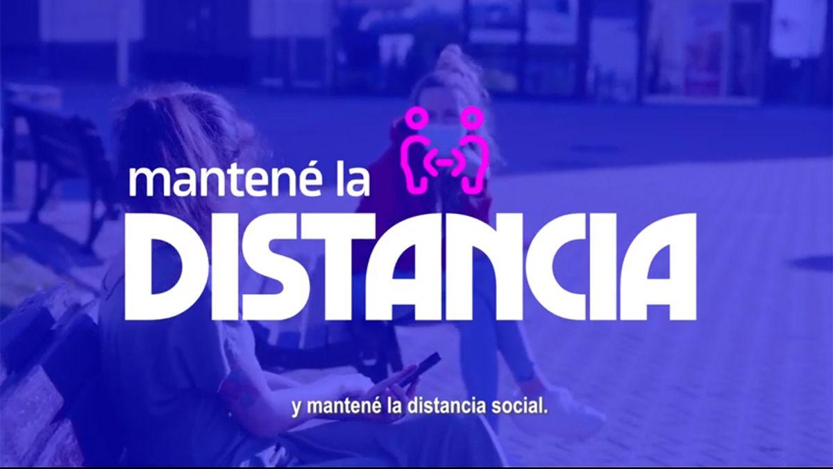Córdoba impulsa una campaña para mantener los cuidados por la pandemia.
