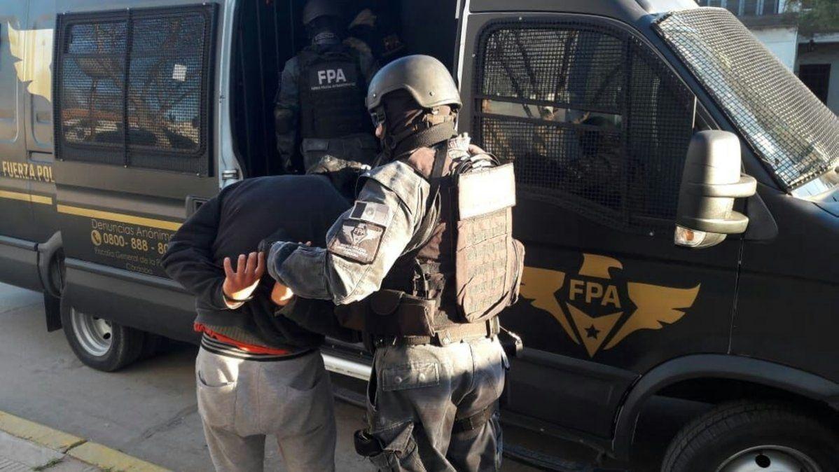 Fue aprehendido por la Fuerza Policial Antinarcotráfico el 2 de noviembre del 2019