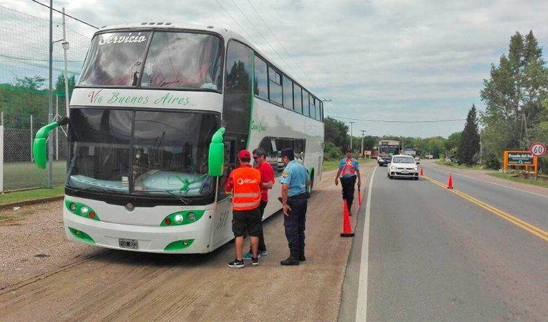 Operativo primavera: el Ersep controlará transportes en toda la provincia