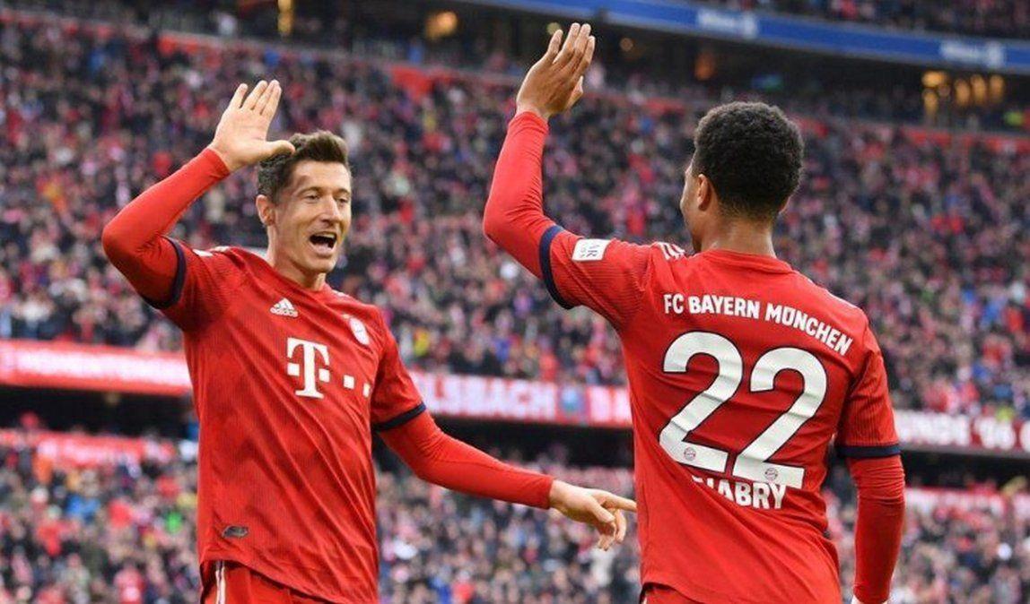 El equipo Bávaro es el líder de la Bundesliga