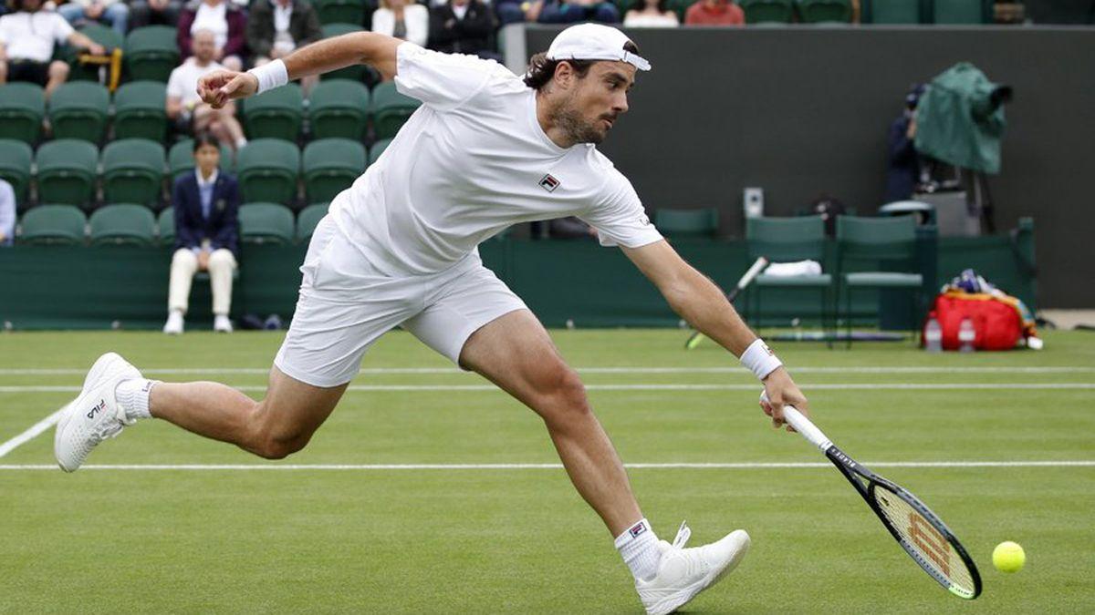 Pella le dijo adiós a Wimbledon