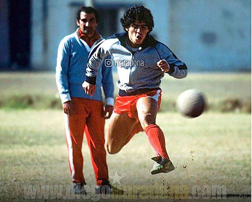 """""""Diego fue el mejor de la historia. Nos dimos un abrazo siempre"""