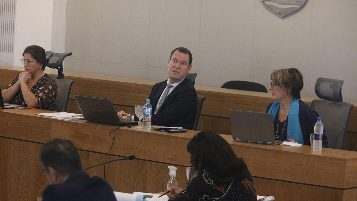 El tribunal es presidido por Daniel Vaudagna y lo acompañaban las vocales Virginia Emma y Natacha García.