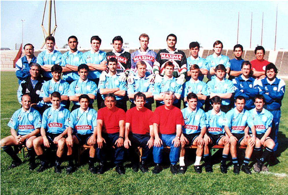 El 19 de julio de 1998 este plantel de Belgrano logró el ascenso al vencer 3-1 a Aldosivi de Mar del Plata. Sieracky era uno de los arqueros de Ricardo Rezza.