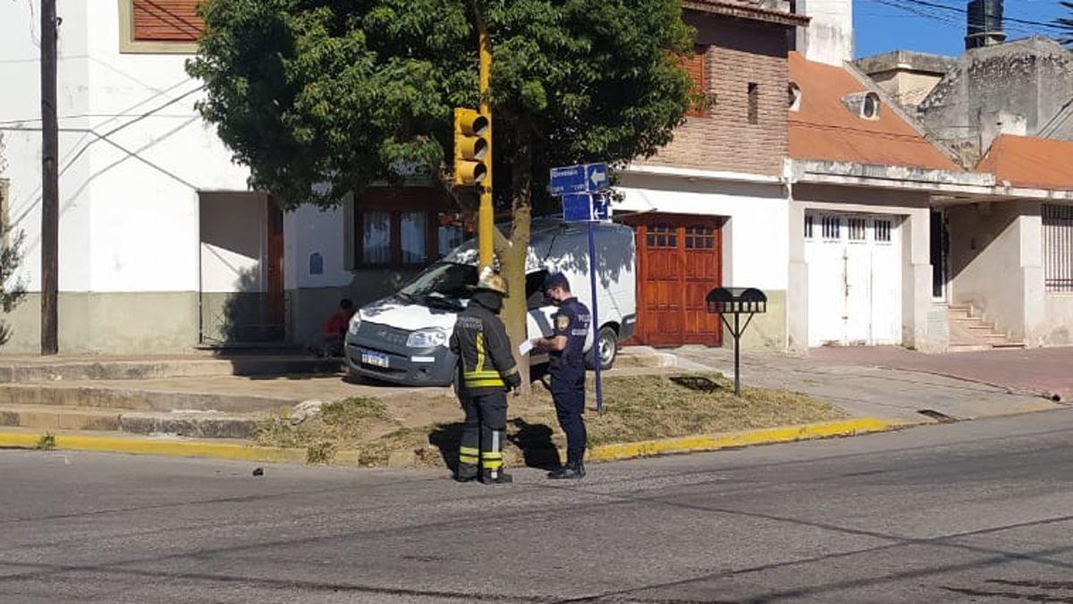 El hecho ocurrió en Rivadavia y Ameghino.