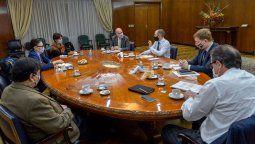 El Gabinete Económico encabezado por el ministro Martin Guzmán volvio a reunirse en el Palacio de Hacienda para analizar la dinamica económica en el contexto de la pandemia, las medidas económicas en marcha y la situación fiscal.