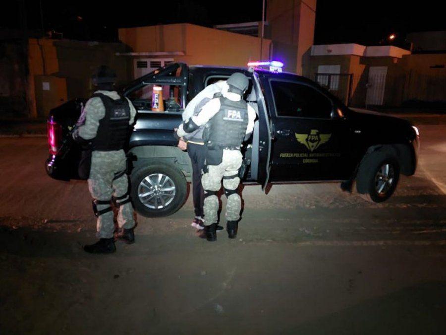 Cerraron un kiosco de drogas en Villa Nueva