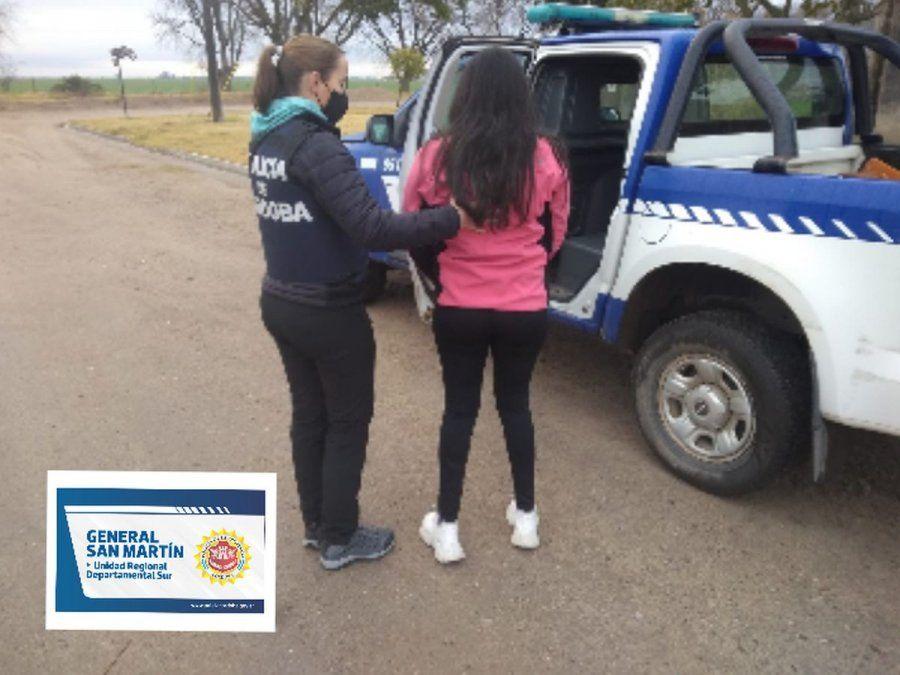 La detención de los presuntos autores.