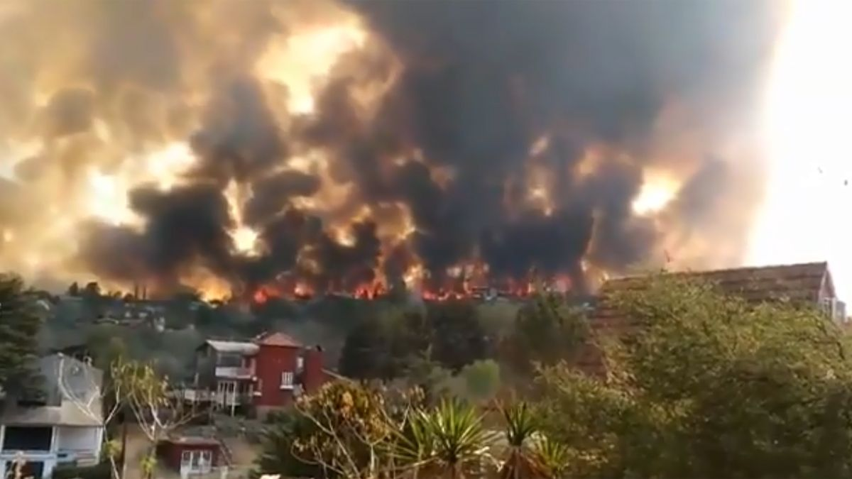 Entre Carlos Paz y Santa Cruz del Lago volvieron a producirse escenas alarmantes.