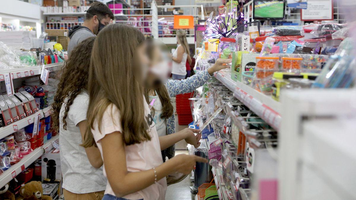 La canasta de útiles escolares aumentó un 50% respecto de la del año pasado. (Foto: Matías Tambone)