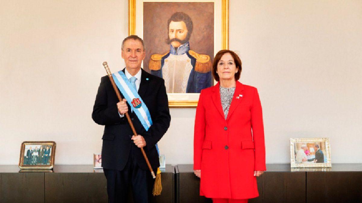 Schiaretti impulsa a Alejandra Vigo para el Senado.