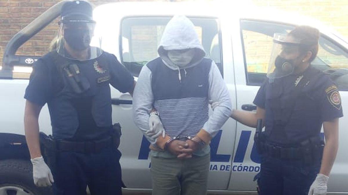 La detención se produjo en General Deheza por una causa iniciada en Catamarca.