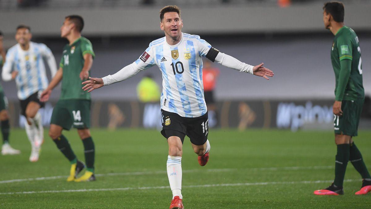 Messi fue la gran figura de la noche