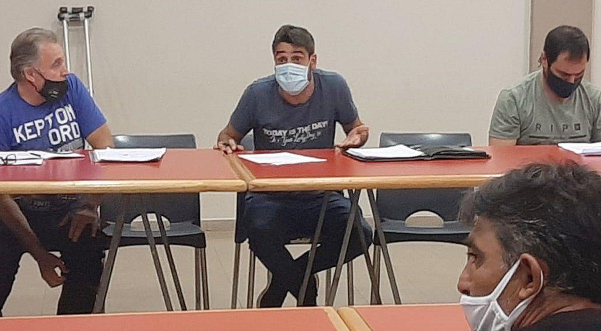 """Diego Rodríguez manifestó que """"el Colegio de Árbitros apuesta a fortalecer a las 3 asociaciones arbitrales para formar árbitros y proyectarlos""""."""