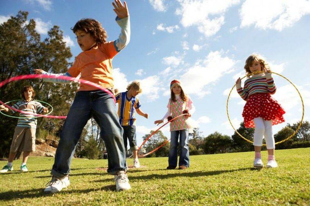 Niños en movimiento: la importancia  del juego