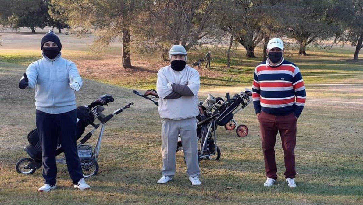 El Villa María Golf Club tuvo unos 90 golfistas que