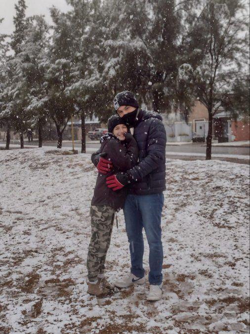 En el día más frío del año, la nieve esquivó a la ciudad de Villa María