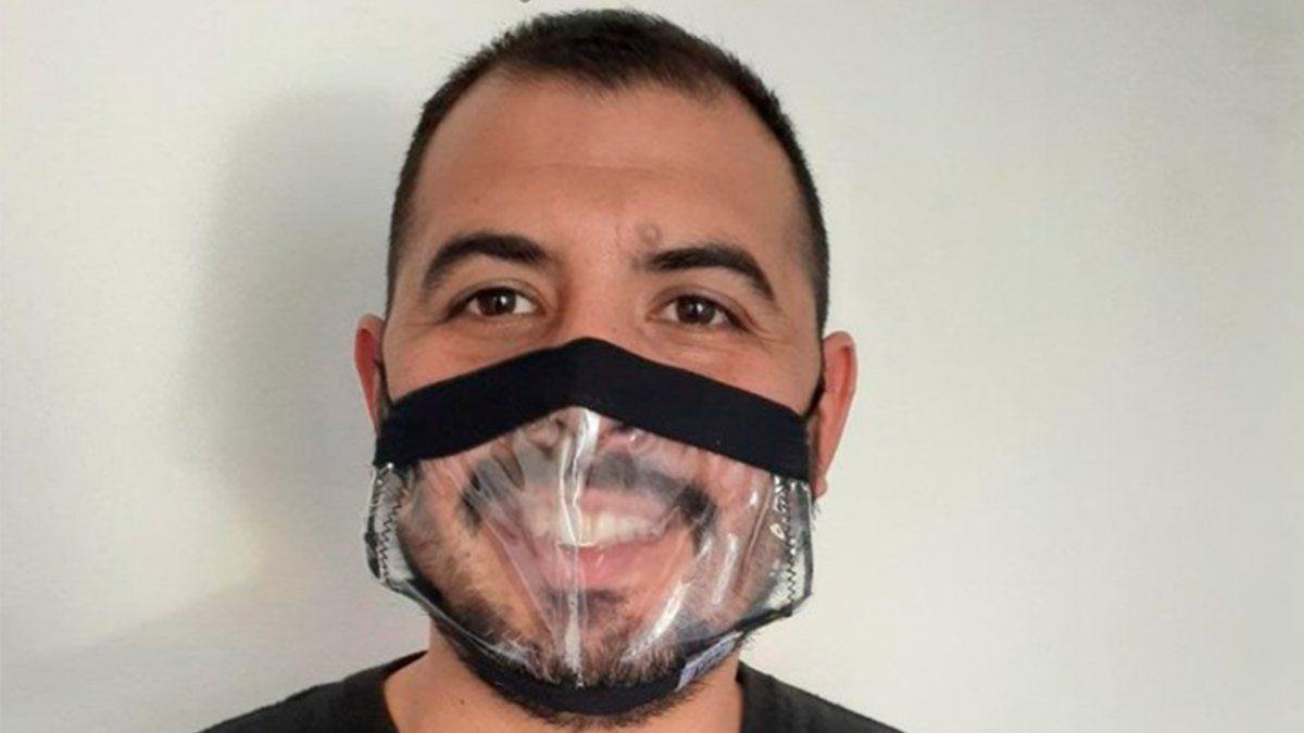 Proponen que personal municipal  use barbijos transparentes