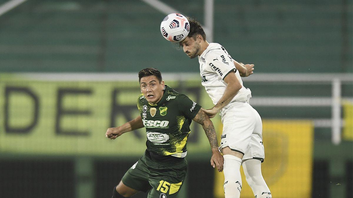 Defensa cayó ante Palmeiras en la ida de la Recopa