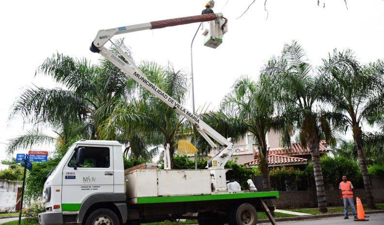 Recambiarán 116 luminarias por tecnología led en bulevar España