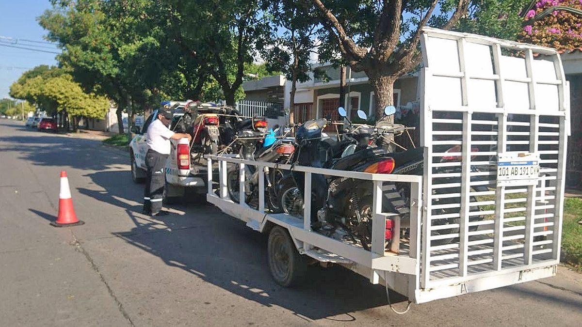 Por distintas infracciones, retuvieron 159 vehículos durante el fin de semana