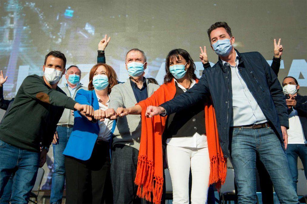 El acto final de campaña fue en Alta Gracia.